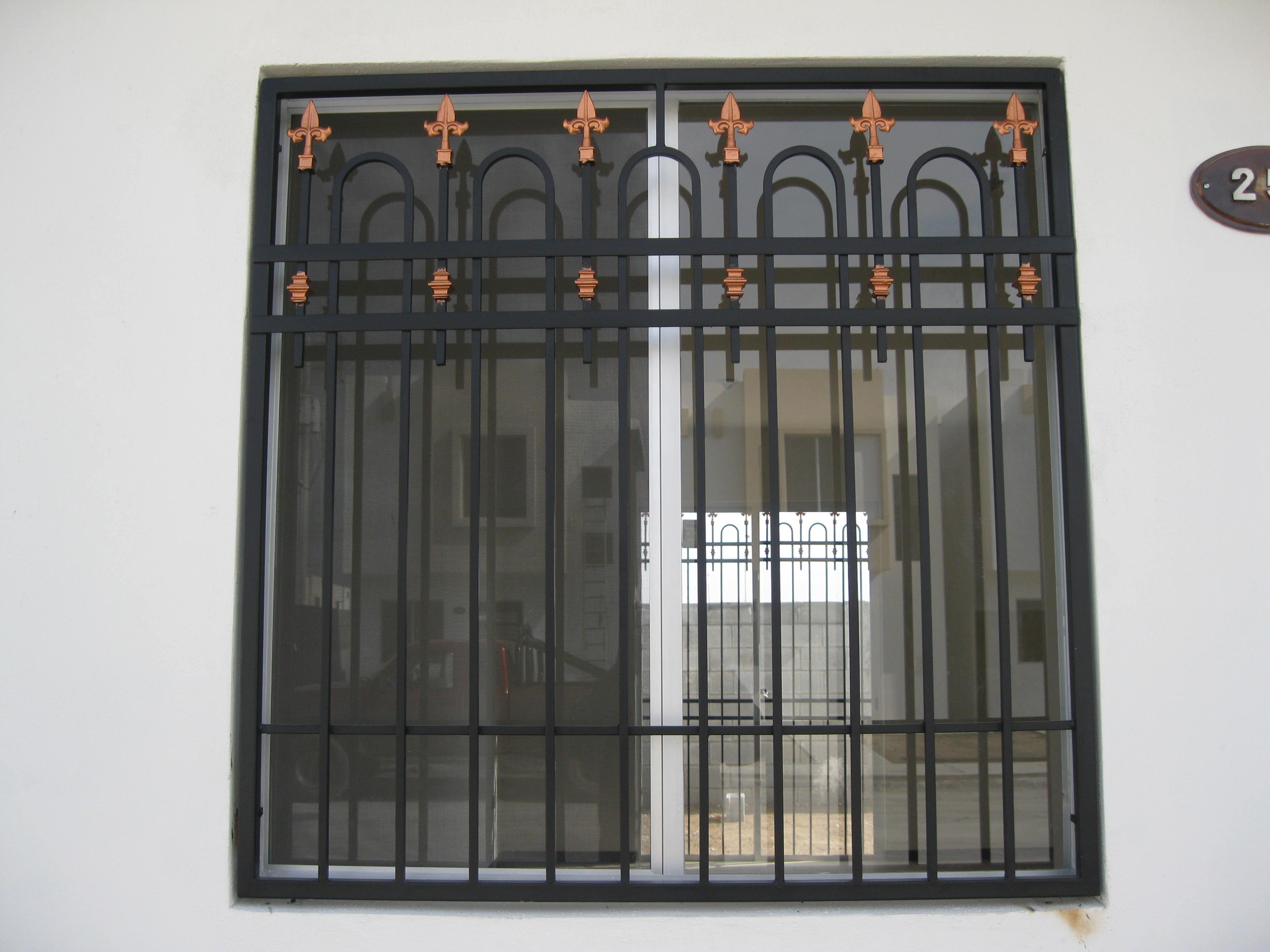 Related pictures rejas para ventanas puertas protectores - Rejas para puertas ...